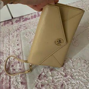 Tory Burch envelope clutch wristlet